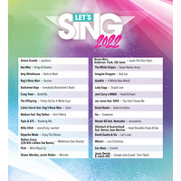 Let's Sing 2022 + 1 Microphone  - Playstation 5