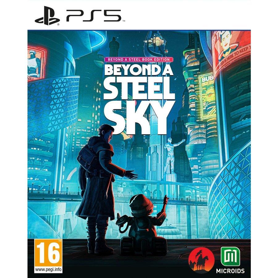 Beyond a Steel Sky - Beyond a Steelbook Edition - Playstation 5