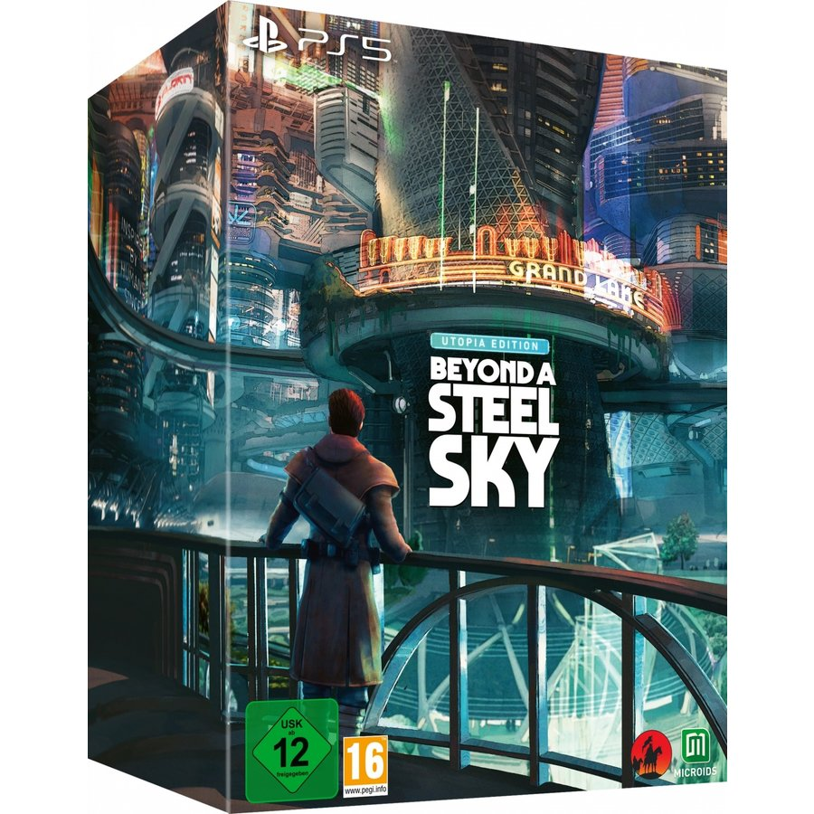 Beyond a Steel Sky - Utopia Edition - Playstation 5