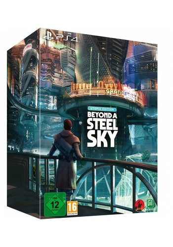 Beyond a Steel Sky - Utopia Edition - Playstation 4