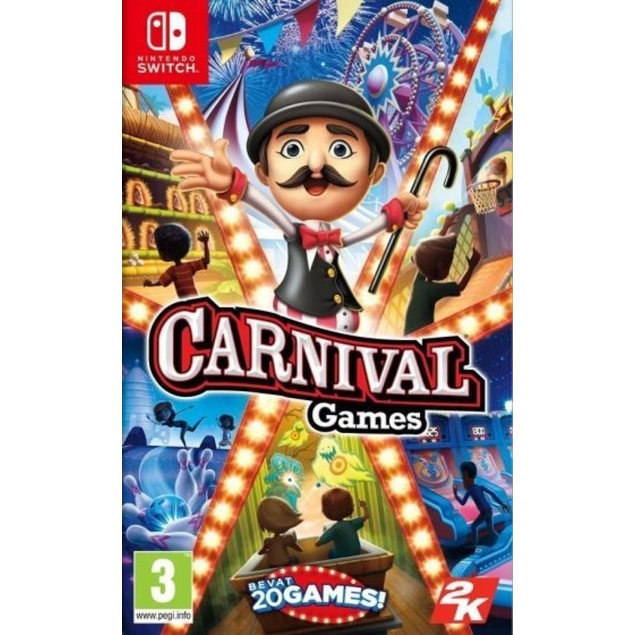 Carnival Games (Code in a Box) - Nintendo Switch