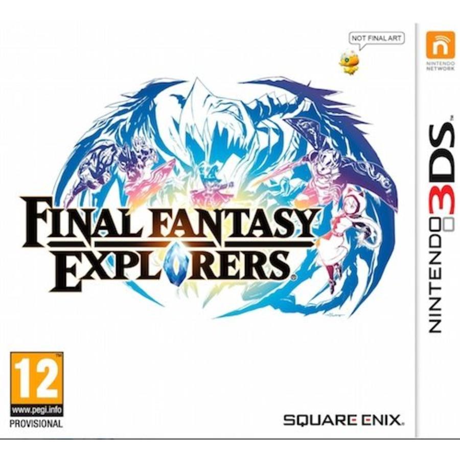 Final Fantasy: Explorers - Nintendo 3DS