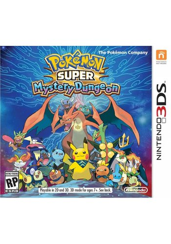 Pokemon Super Mystery Dungeon - Nintendo 3DS