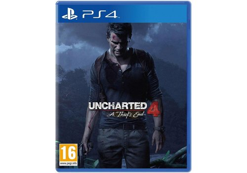 Uncharted 4: A Thief`s End - Playstation 4