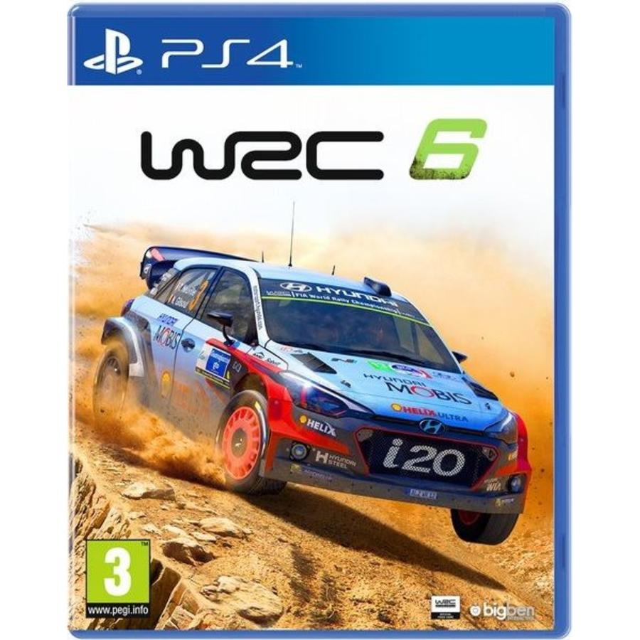 WRC: FIA World Rally Championship 6 - Playstation 4