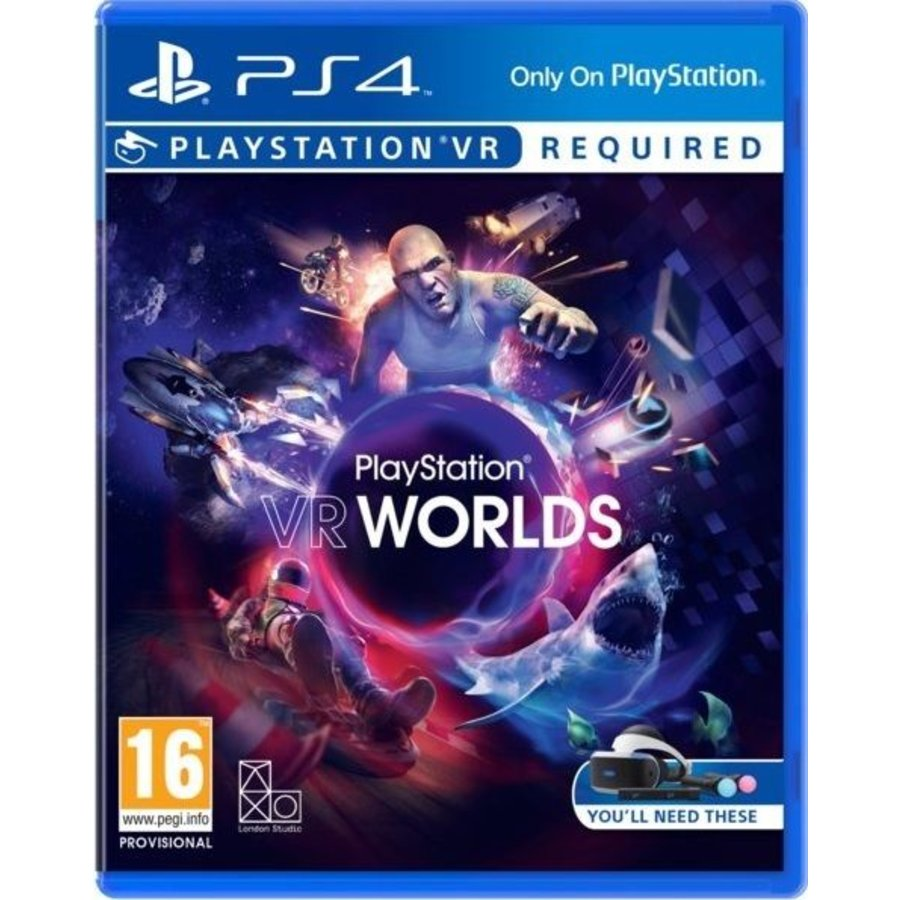 PlayStation VR Worlds (PSVR) - Playstation 4