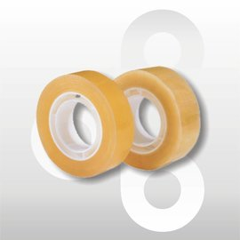 Tape transparant 15 mm