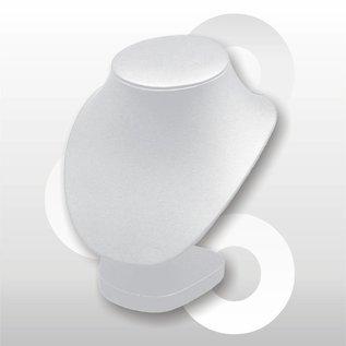 Collierhals H17.5 cm WIT