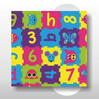 Kraftpapier Puzzle 50 cm 200 mtr