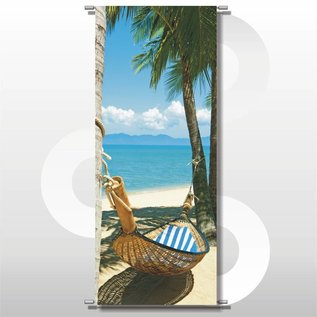 Banner Palms 75 x 180 cm