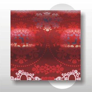 Kerst papier 30 cm breed 150 mtr rol
