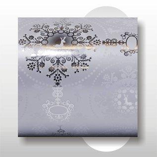 Kerst papier 50 cm breed 150 mtr rol