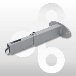 Wandafstandhouder verstelbaar ALU 15-28 cm prijs op aanvraag