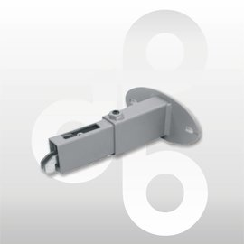 Wandafstandhouder verstelbaar ALU 6-10 cm prijs op aanvraag