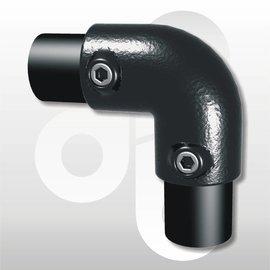Kniestuk 2-weg voor buis Ø 33,7 mm