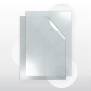 Schutvel 72 x 102 cm ontspiegeld