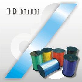 Lichtblauw Krullint 10 mm breed 250 mtr.