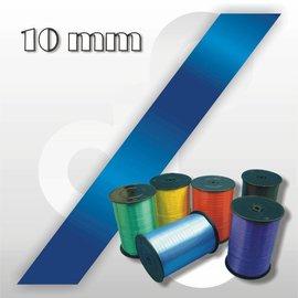 Donkerblauw Krullint 10 mm breed 250 mtr.