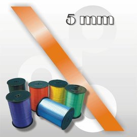 Oranje krullint 5 mm breed 500 mtr.