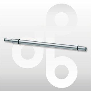 glas-schapdrager mat-chroom 36 cm