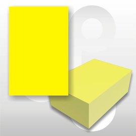 Prijskaart fluor geel 4x6 cm