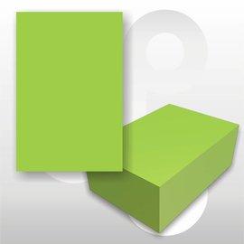 Prijskaart fluor groen 4x6 cm