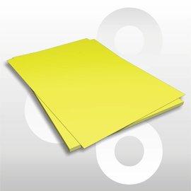 Etalagekarton fluor-geel 48x68 cm