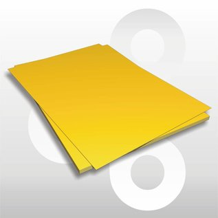 Etalagekarton fluor-oranje 48x68 cm