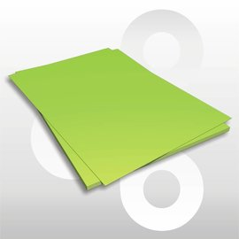 Etalagekarton fluor-groen 48x68 cm