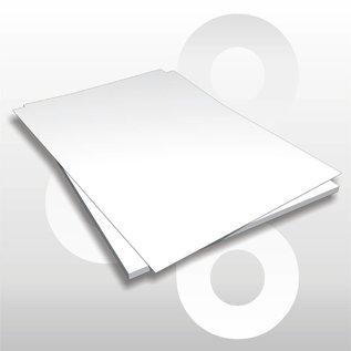 Etalagekarton wit 48x68 cm