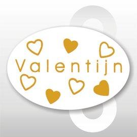 Sticker Valentijn