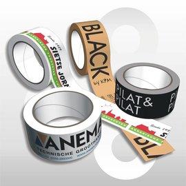 Uw eigen bedrukte Tape - Prijzen op aanvraag