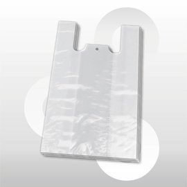 Hemdtas plastic semi-transparant 30 x 60 cm 1000 stuks