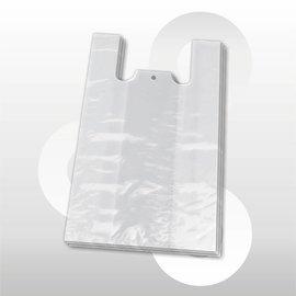 Hemdtas plastic semi-transparant 27 * 48 cm