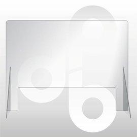 Kuchscherm 80cm breed 60cm hoog, transparant preventie scherm