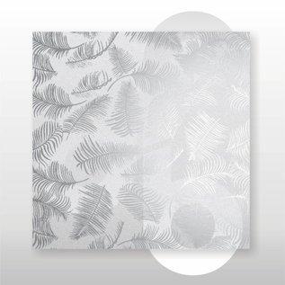 Zijdevloei vellen 22 grams formaat 50 x 70 cm Varen Zilver