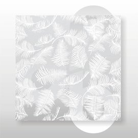 Zijdevloei vellen 22 grams formaat 50 x 70 cm Varen Wit