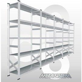 AANBIEDING: Stelling Metalsistem. Lengte 490 cm. Hoogte 200 cm m