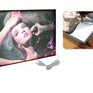 Maxi frame LED lightbox enkelzijdig 32 mm 297 x 420 mm