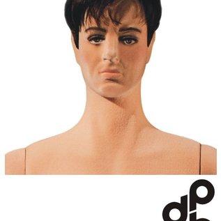 Flexibele Mannequin BEVLOKT, hoofd met make-up