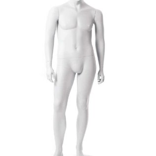 Mannequin XXL Serie Headless RAL 9010(wit)