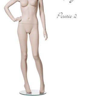 Mannequin Lingerie naturel Positie 2