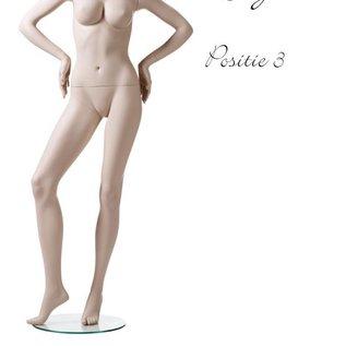 Mannequin Lingerie naturel Positie 3