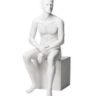 Mannequin Marvin RAL 9010 wit