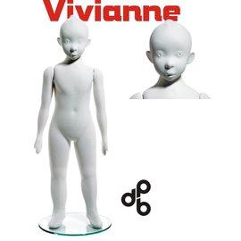 Vivianne 4-5 jaar H102 cm WIT