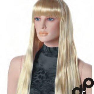 Natascha blond pruik voor etalagepop