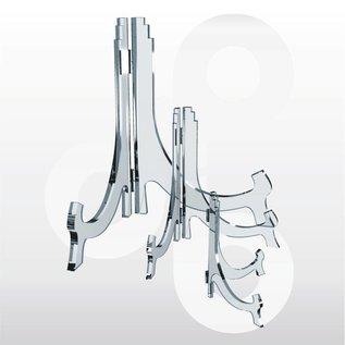 Bordenstandaard scharnierbaar H180 mm. 6 stuks.