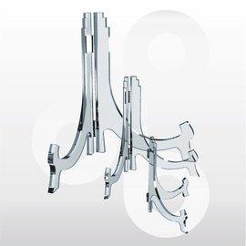 Bordenstandaard scharnierbaar H120 mm. 6 stuks.