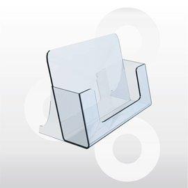 Visitekaarthouder staand 100 x 55 x 39 mm