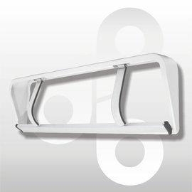 Papierrolhouder ondertafelmodel 75 cm
